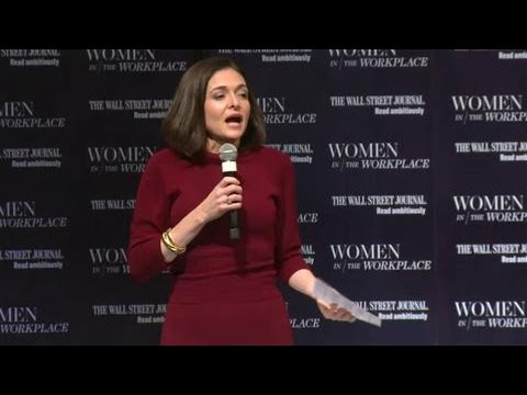 Sheryl Sandberg on Women at Work at WSJ
