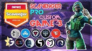 🥊Scavenger Pro Custom Solo🥊 Game 3 (Fortnite)