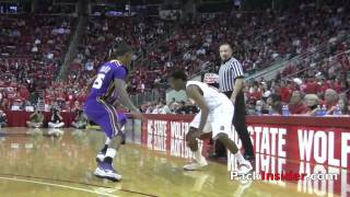 NC State's Ryan Harrow Mix vs. Pfeiffer & Tenn Tech