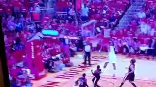 Jeremy Lin to Dwight Howard Insane Alley-Oop Dunk [Game 2, 1st Round 2014 NBA Playoffs]