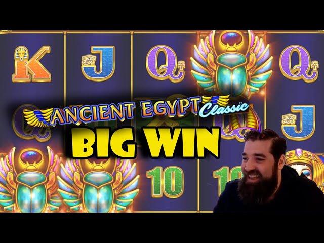 Ancient Egypt BIG win!