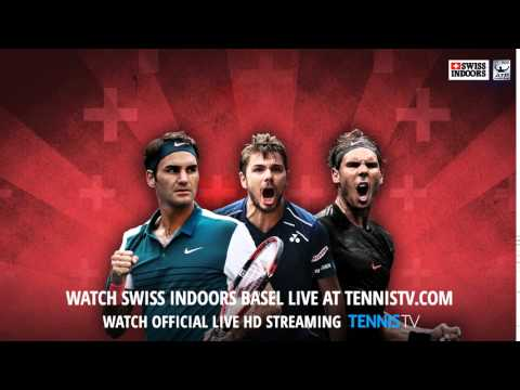 Watch 2015 Swiss Indoors Basel - Official ATP tennis streams in HD