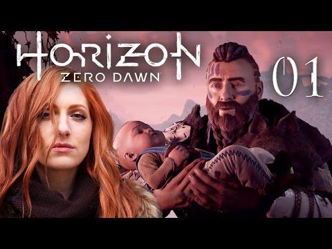 Horizon Zero Dawn #01 - Die Ausgestoßene ◆ Let's Play