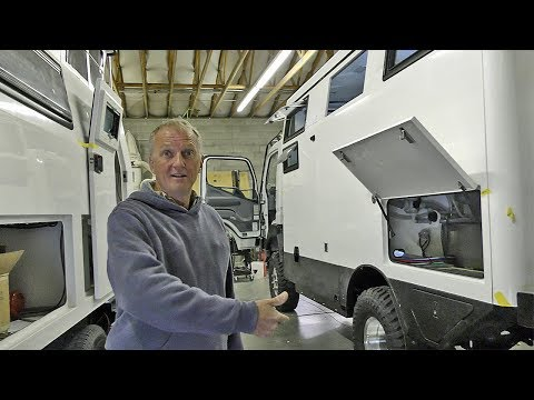 EARTH CRUISER Factory Tour w/ the Owner & Learning how these Expedition Vehicles are Built