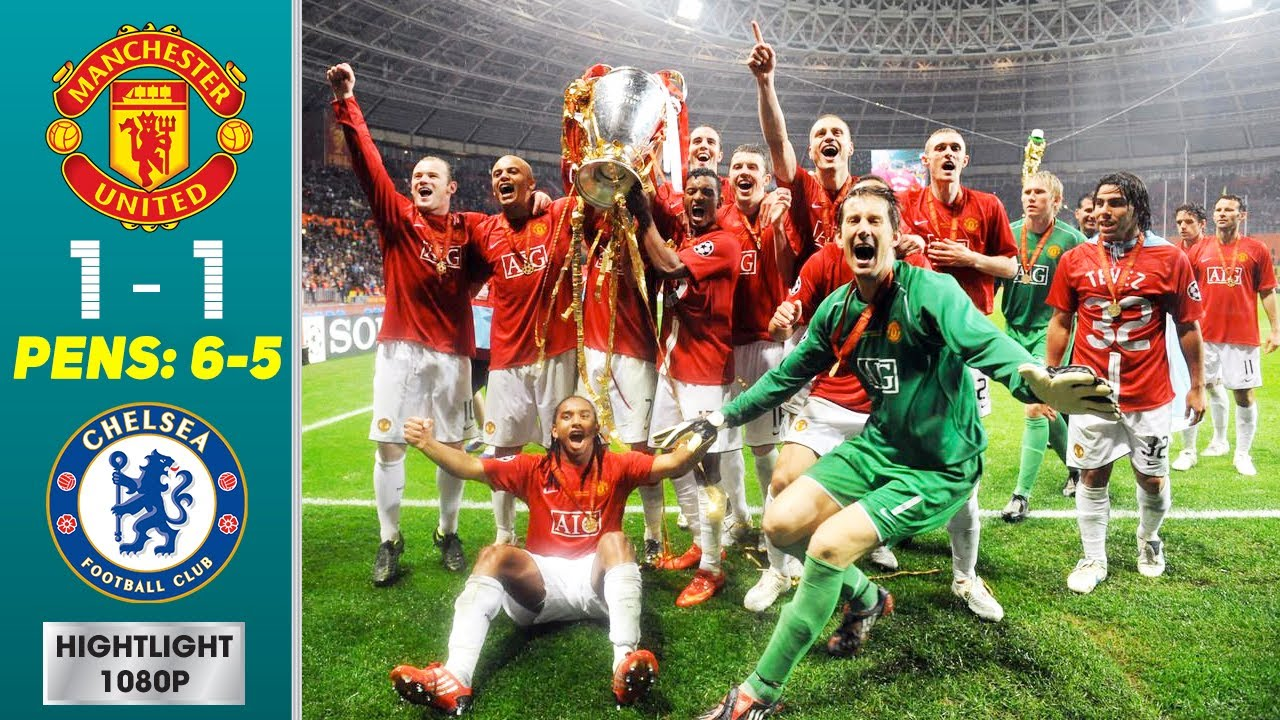 Download Manchester United vs Chelsea 1-1 (Pens 6-5) Highlights & Goals - Final | UCL 2007/2008
