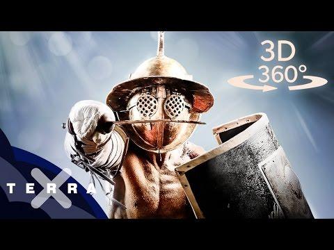 360° Gladiatoren im Kolosseum | Altertum
