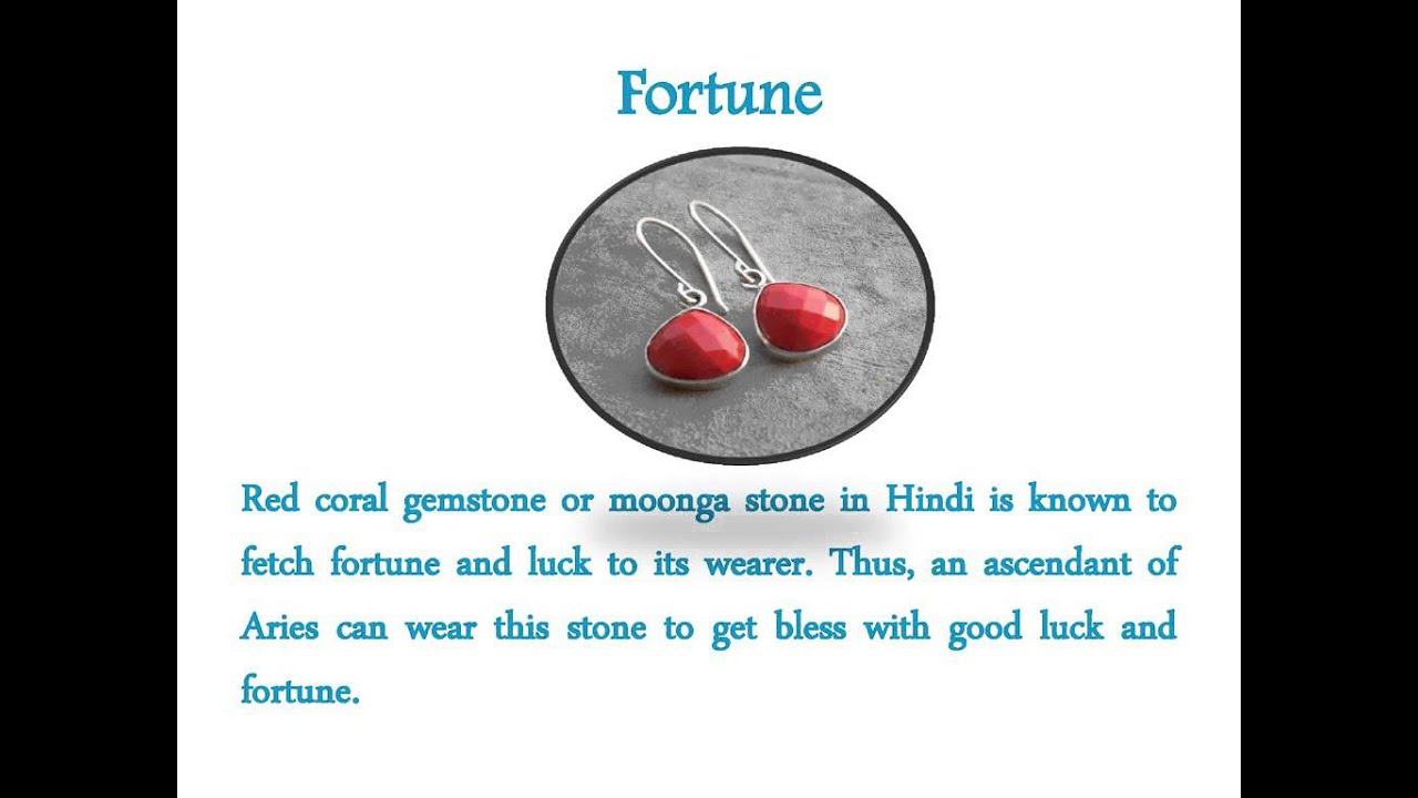 Which stone is suitable for Aries on a horoscope 95