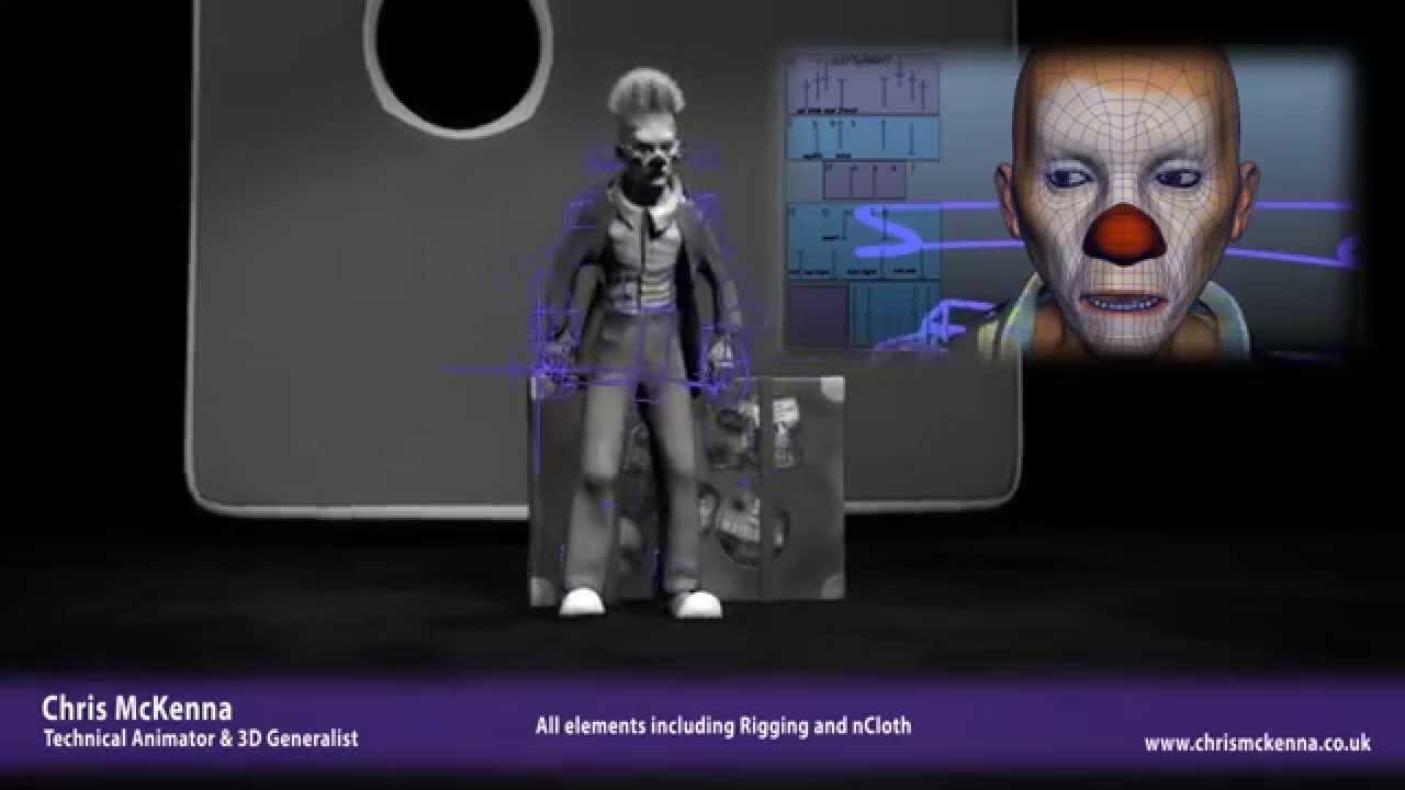 Chris McKenna - Technical Animation Showreel