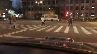 Проезды перекрестков по просьбе начинающего водителя.