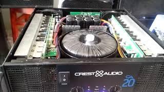Crest audio CA 20 , mod ic, chất tiếng rất hay, uy lực và rõ ràng.Tel 0978659989