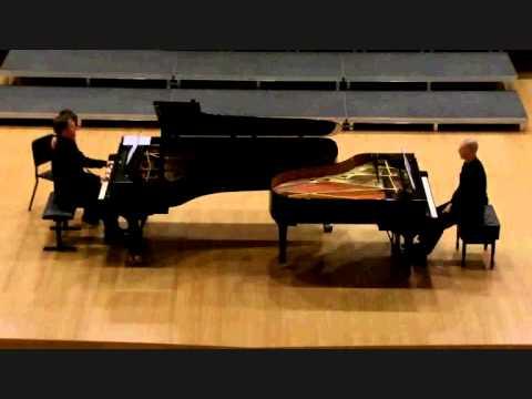 Rachmaninov. Russian Rhapsody. Diego Fedeli  - Jan Maarten van der Mark.  pianos