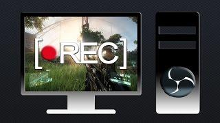 Как записывать на видео игры и сохранять их на свой компьютер в программе OBS(Как снимать рабочий стол и свои прохождение игр на видео через программу open broadcaster software., 2015-09-01T12:36:38.000Z)