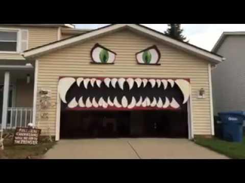 Monster Door & DIY Halloween Cookie Monster Door Source