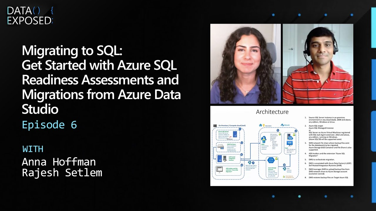 Migrating to SQL: Get Started w/ Azure SQL Readiness Assessments & Migrations from ADS (Ep. 6)