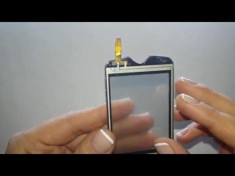 Сенсорный экран для Samsung s3370