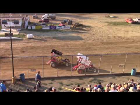 Butler Motor Speedway Sprint Heat #2 7/8/17