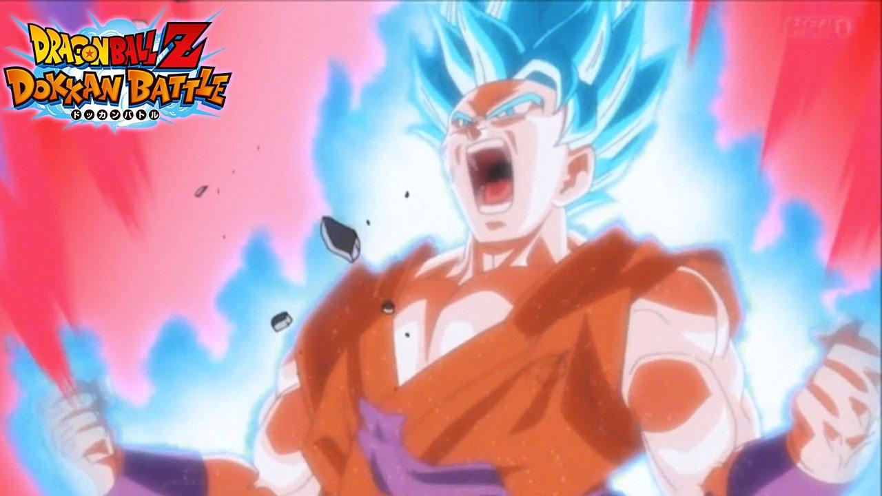 That Damage New Super Saiyan Blue Kaioken Goku Card Gameplay