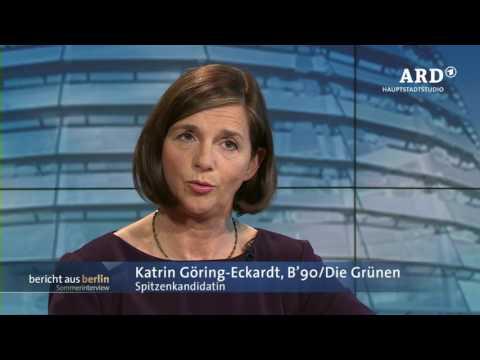 ARD-Sommerinterview mit Katrin Göring-Eckardt, 02.07.2017, Bericht aus Berlin