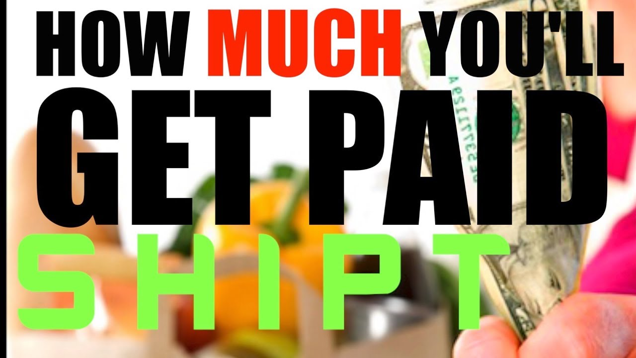 Shipt Shopper Pay Explained