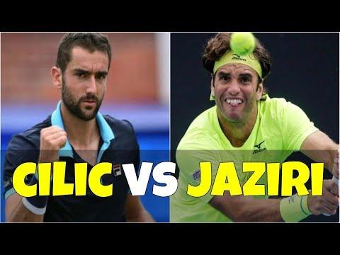 Marin Cilic vs Malek Jaziri | 2R Istanbul 2018 Highlights