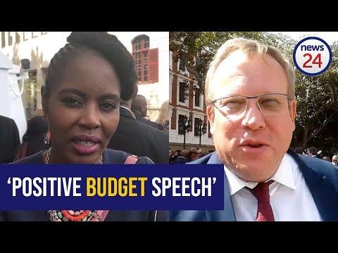 WATCH: Mixed reaction to finance minister's budget speech