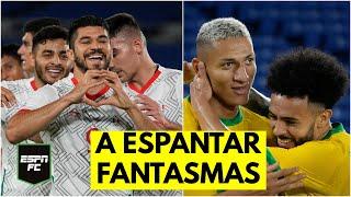MÉXICO VS BRASIL. Actualidad vs historia en las semifinales de Juegos Olímpicos Tokio 2020
