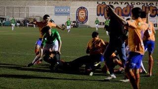 Deportivo Roca 0 - Cipolletti 1: batalla campal en el Maiolino