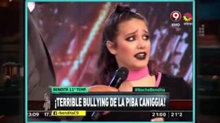 ¡Terrible bullying a la piba Caniggia!
