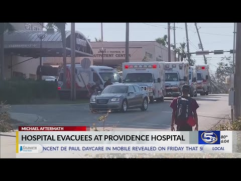 Local hospitals take in patients from Panama City hospital