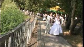Прогулка на свадьбе .