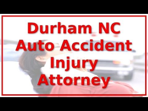 Personal Injury Lawyer In Durham NC - Call 888-641-3318 - Vehicle Collision Victims ONLY!