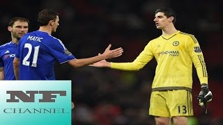 News Football - Courtois confident Conte will remain at Chelsea