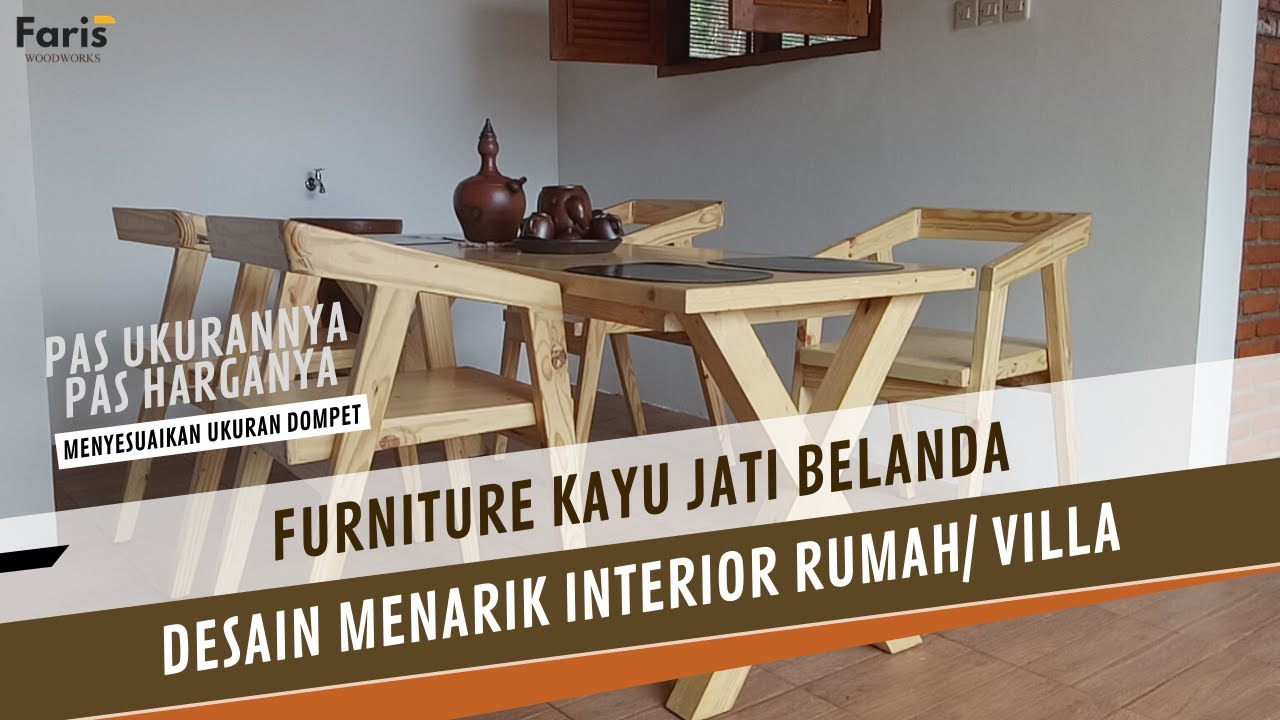 Desain Unik Furniture Jati Belanda 0812 9000 8038 Youtube