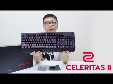 ZOWIE CELERITAS II - Flair Tech Optical Switch