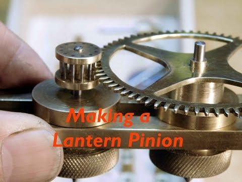 DIY Cycloidal Gear Cutter: Part 4 Making the Lantern Pinion