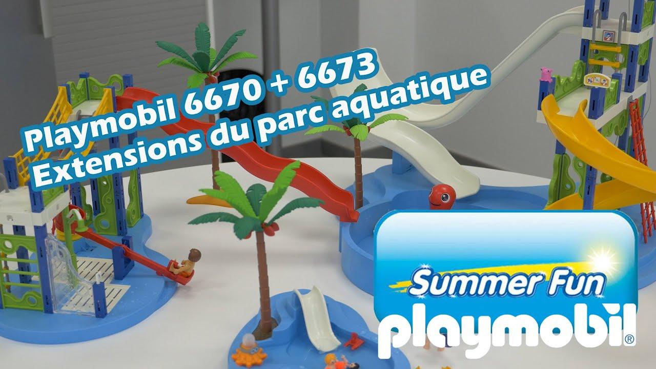 Extensions Du Parc Aquatique Playmobil 6670 6673 Summer Fun
