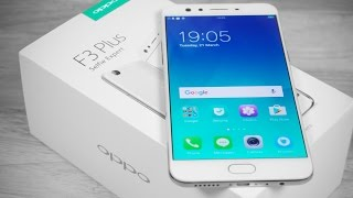 OPPO F3 Plus (Dual Selfie Camera | Sony IMX 398 | Snapdragon 653) - Unboxing & Hands On!