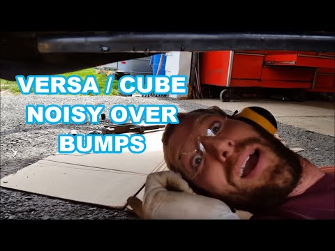 SUB FRAME BUSHING NISSAN VERSA / CUBE How To Replace Subframe Bushings