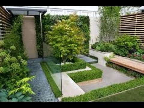 Modern Garden Design Ideas 2018