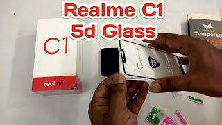 Realme C1 5d tempered glass full screen protection