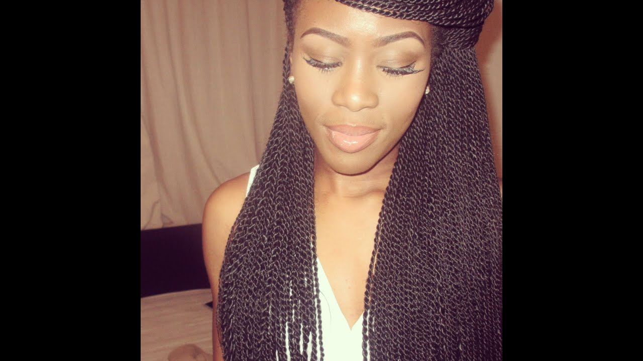 Styling My Senegalese Twists 2
