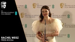 Rachel Weisz | Press Room Interview | EE BAFTA Film Awards 2018