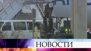 ВСША пришлось поднять истребители из-за инцидента наборту пассажирского самолета.