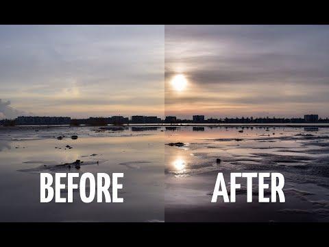 LIGHTROOM TUTORIAL: How I edit a sunset (landscape photography) thumbnail