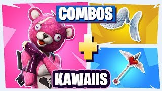 🌈 THE BEST *COMBOS* PLUS *KAWAIIS* skin in Fortnite - Combinations for OTAKUS