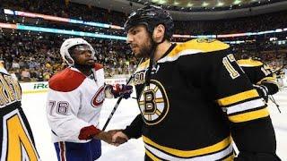 NHL 'Handshake' Moments