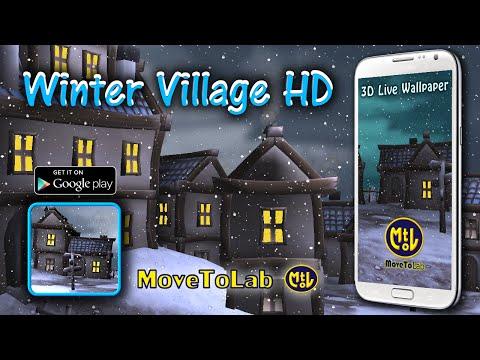 Winter Village HD Live Wallpaper - v 1.0