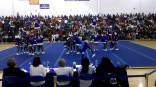 The Eastern District Cheerleading Competition