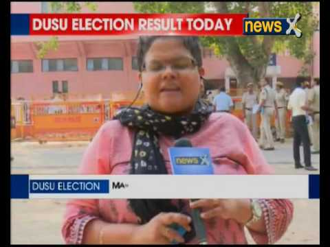 DUSU election result today: Political war in Delhi University