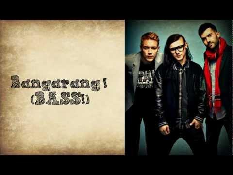 Skrillex-Bangarang (Lyrics) ft. Sirah